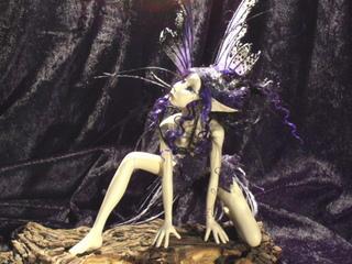 purple Ashra by creafairies
