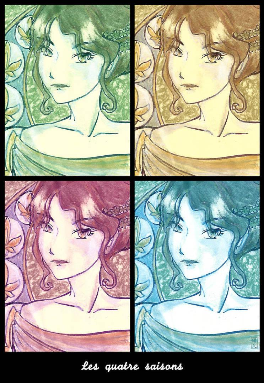 Les quatre saisons by MorisatoMegumi
