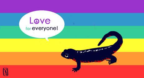Love for everyone! by MorisatoMegumi
