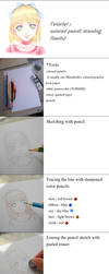 [Tutorial] colored pencil drawing by Calur