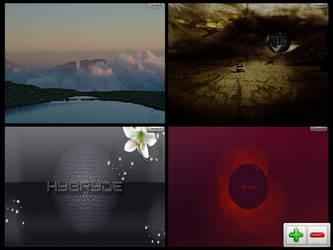 Hybryde Linux by carteirodopoente
