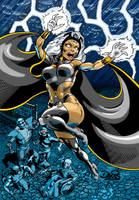 Storm high voltage in color by dondalier