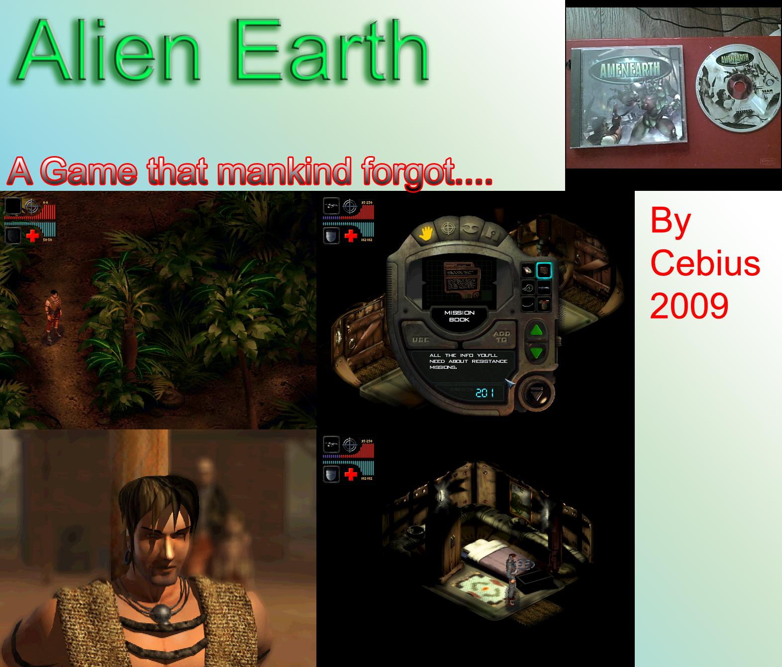 Alien Earth by Cebius