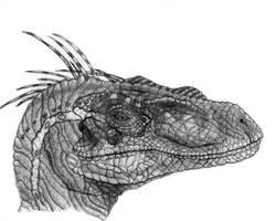 Jurassic Park 3 Velociraptor by yankeetrex