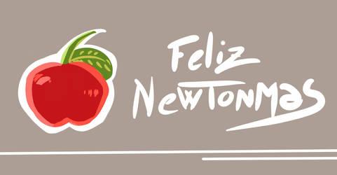 Happy Newtonmas by CosararaWorld