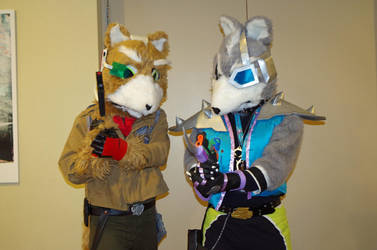 AACon 2014: Fox and Wolf by Sylabus