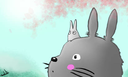 totoro by lephista