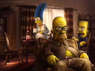 The Simpsons bad by Panchusfenix