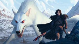 Jon Snow by Panchusfenix