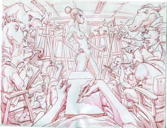 anatomy class by Panchusfenix