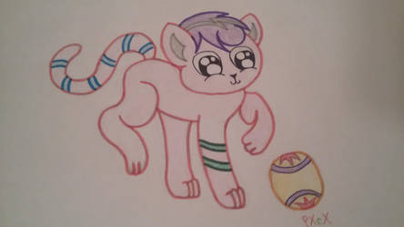 Playing With A Ball by PrimaveraXcX