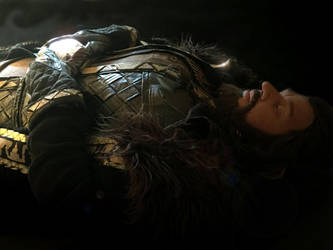 Here lies Thorin, son of Thrain by Jathoris