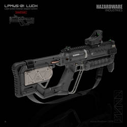 LUCH (assault mode back) by HYDROGEARS