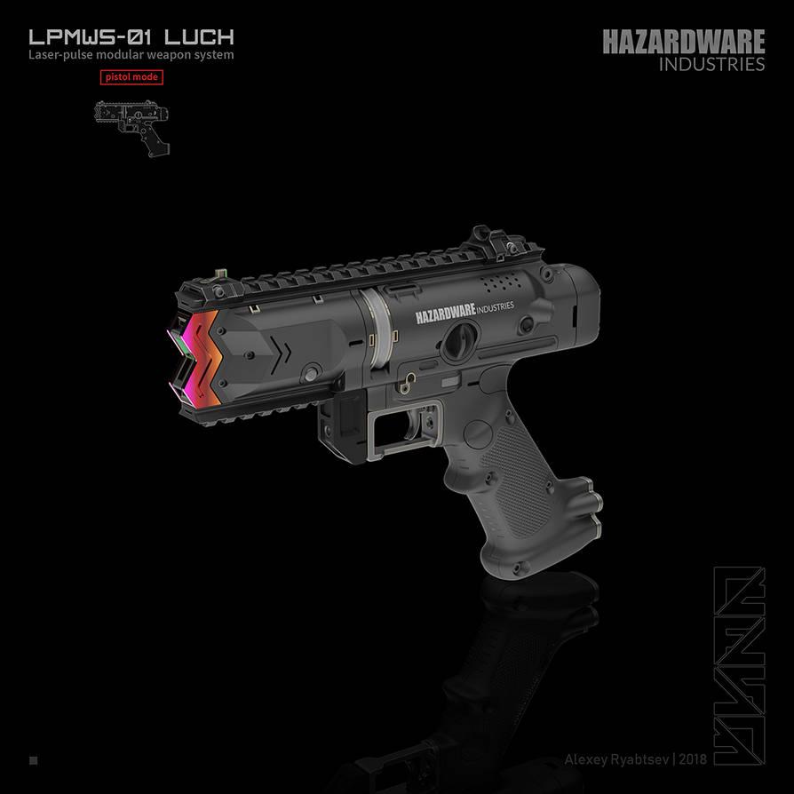 LUCH (pistol mode) by HYDROGEARS
