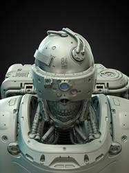 Bones (WIP clay render) by HYDROGEARS