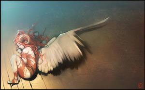 fallen angel2 by GaudiBuendia