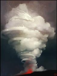 Volcano dragon by GaudiBuendia