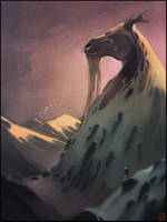Forgotten dragon by GaudiBuendia