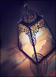 Arabian lamp by GaudiBuendia