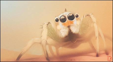 spider rider by GaudiBuendia