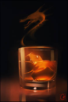 Unholy drink by GaudiBuendia