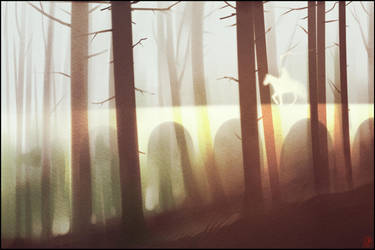 sketch. bridge of light by GaudiBuendia