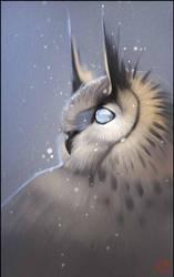 Blind owl by GaudiBuendia