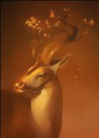 Deer by GaudiBuendia