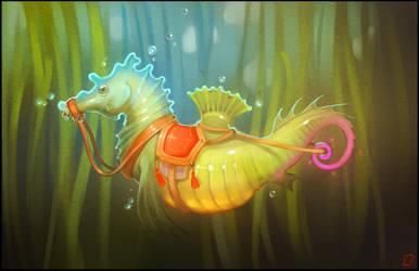 seahorse by GaudiBuendia