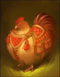 Hen by GaudiBuendia