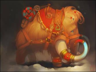 mammoth by GaudiBuendia