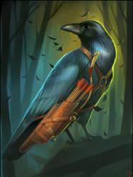 crow-archer 2 by GaudiBuendia