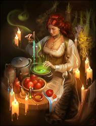 Witch by GaudiBuendia