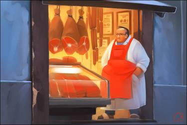 Butcher by GaudiBuendia