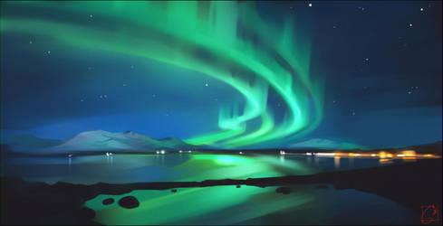 Aurora Borealis by GaudiBuendia