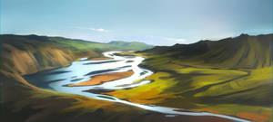 River by GaudiBuendia
