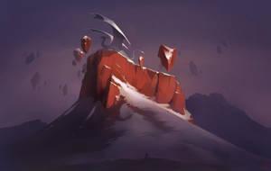 dragon mountain by GaudiBuendia