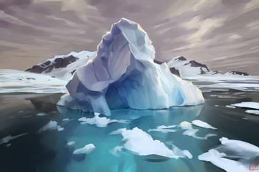 land of ice by GaudiBuendia