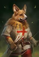 Archer-Corgi by GaudiBuendia