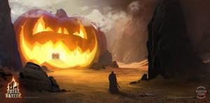 Halloween Dungeon by GaudiBuendia