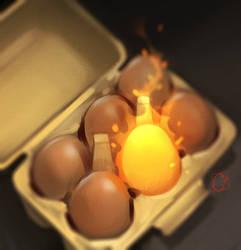 Phoenix Egg by GaudiBuendia