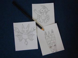 I can't draw #1 by aquametal