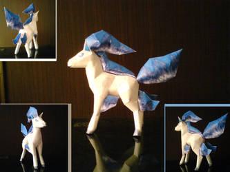 Shiny Ponyta by aquametal