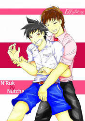 Ruk and Nutcharoman by effytimes