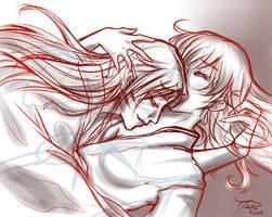 Love Me- Sketch by LordMaru4U