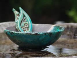 Raku bowl by aingeal-uisge