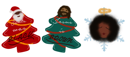 DeApp - Melanin Christmas by Sentientlover800