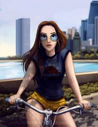 Morning Bike Ride by AlexandraTirado