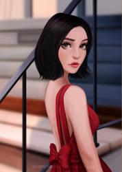 Red Dress by AlexandraTirado