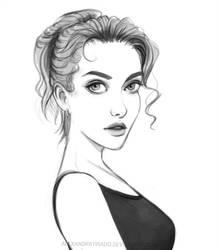 Portrait Study by AlexandraTirado